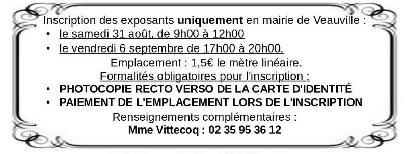 Foire à tout @ Veauville-les-Baons