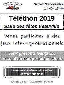 Téléthon @ Veauville-les-Baons